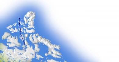 Massive shift in North Pole demands earlier update for navigation