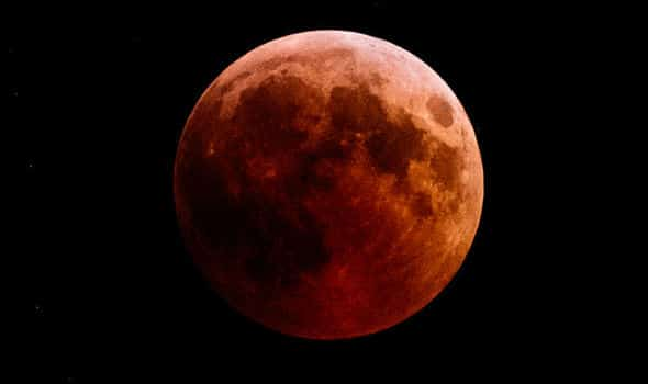 "Skygazers expect a beautiful ""Super Blood Wolf Moon"" Dated 20th January"
