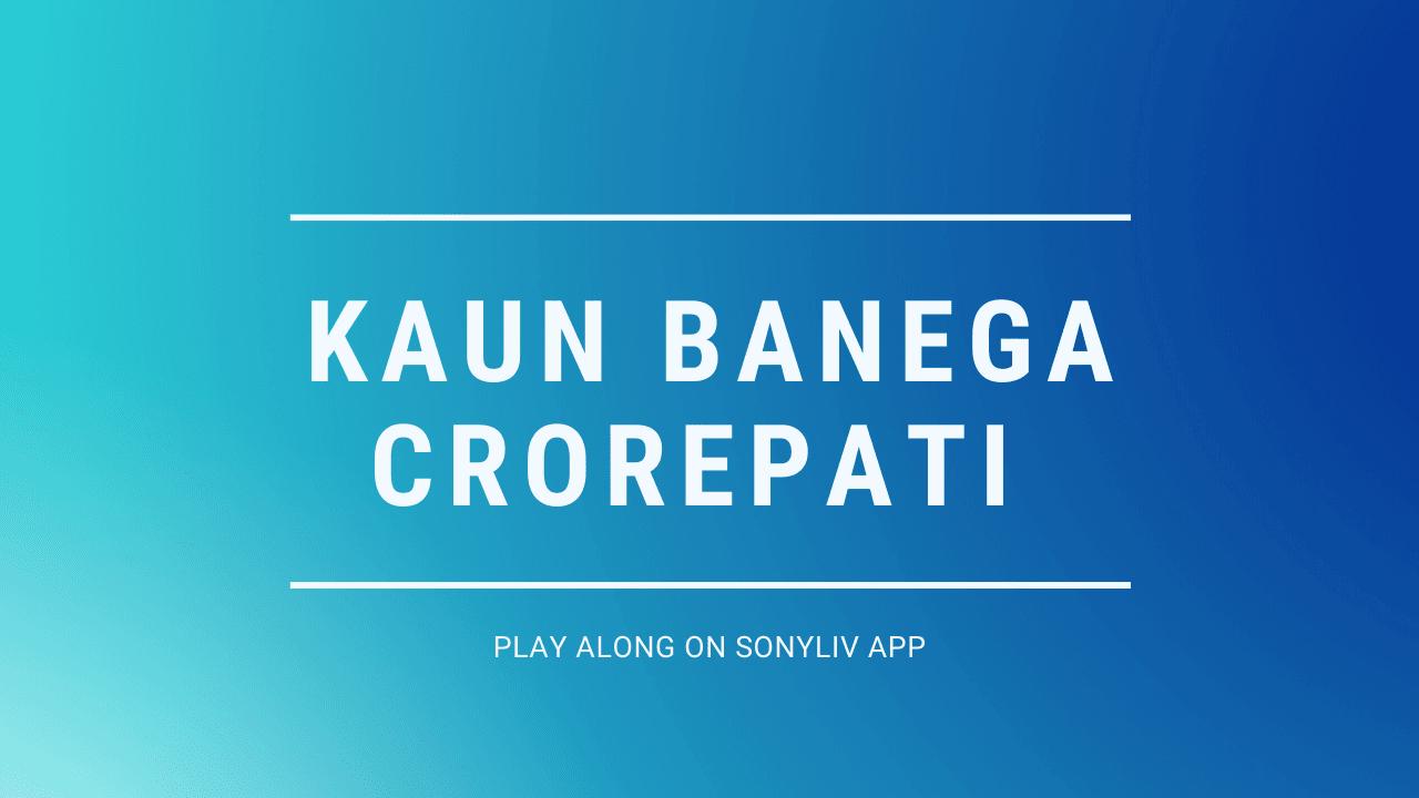 kaun-banega-crorepati-play-along-sonyliv-app
